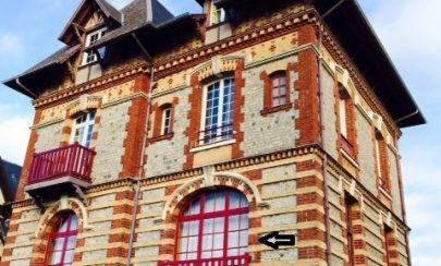 Traumhaft schöne Wohnung in einer Villa in Houlgate 14510 Houlgate - Normandie - Frankreich, Erdgeschosswohnung