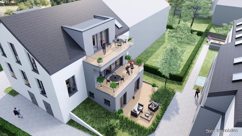 Neubau – Exklusive 2,5-Raum Wohnung mit eigenem Garten! 45219 Essen, Erdgeschosswohnung